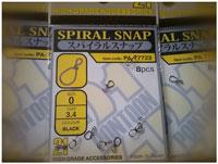 Спиральная застежка Pontoon21 Spiral Snap