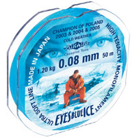 Леска Mikado Eyes Blue Ice